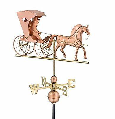 Good Directions 548P Country Doctor Weathervane, Polished Copper