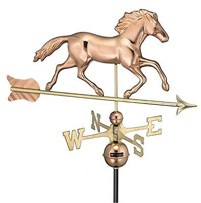 Good Directions 952P Smithsonian Running Horse Full Size Weathervane, Polis