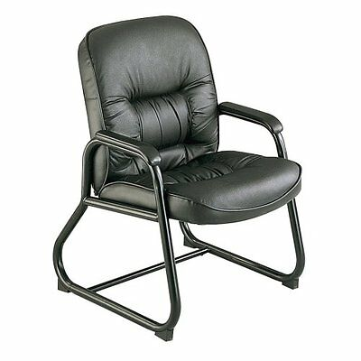 Safco 3473BL Serenity Guest Chair, Black