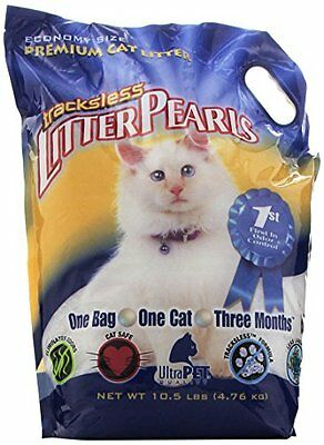 Ultra Pet Trackless Litter Pearls, 10.5-Pound Bag