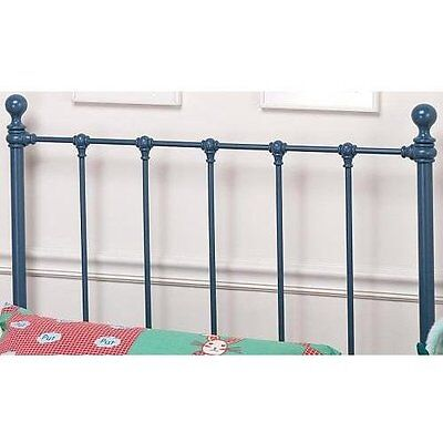 Hillsdale Furniture 1088HTWR Molly Headboard with Rails, Twin, Blue