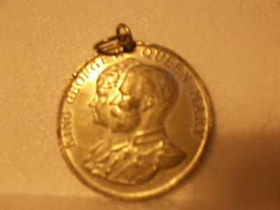 King George V Queen Mary Silver Jubilee Medal 1935