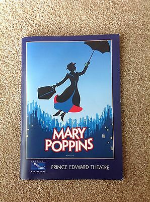 Mary Poppins programme 2007
