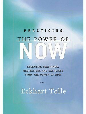 NEW Practicing the Power of Now by Eckhart Tolle Paperback Book Free Shipping