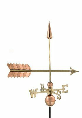 Good Directions 611SP Arrow Weathervane, Polished Copper