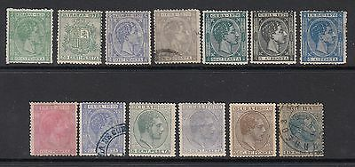 Spain (Colony Stamps)