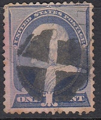 USA Classic Stamp (Good example Cork Cancel)
