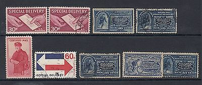 USA Selection Special Delivery Stamps