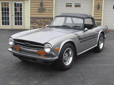 1973 Triumph TR-6 Convertible Triumph TR6  RUST FREE AND REFURBISHED  MAKE A SERIOUS OFFER--MUST SELL