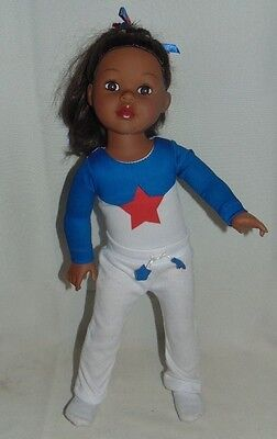 Alexander 18 Inch African American Doll with Outfit