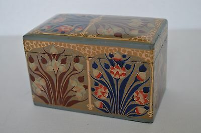 Stunning Asprey Of London  Playing Cards In William Morris Design Wooden Box