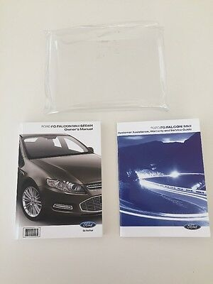 Ford Falcon FG MK2 Owners Manual And Service Book