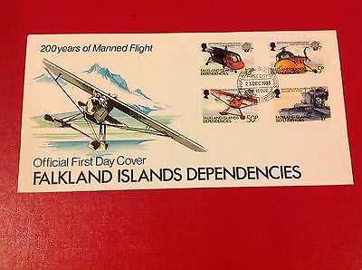 falkland islands dependencies first day cover