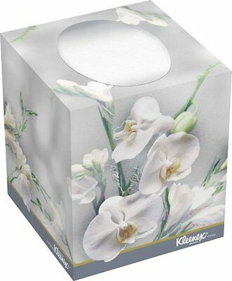 Kimberly-Clark Kleenex 21269 Boutique Facial Tissue with Floral Box, 5 Heig