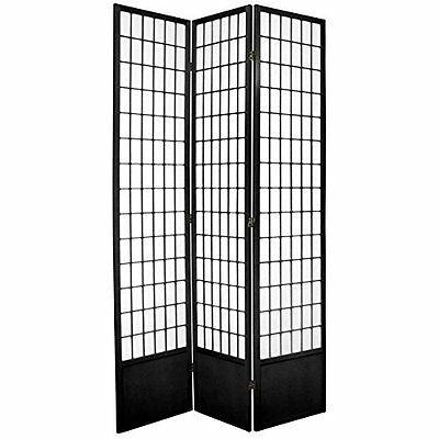 Oriental Furniture Best Classic Asian Design, 7-Feet Window Pane Japanese S