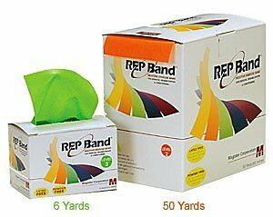 Magister Resistive Exercise - Rep Band Latex-Free GREEN (LEVEL 3) 50 YARD R
