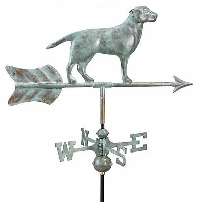 Good Directions 810V1R Labrador Retriever Garden Weathervane with Roof Moun