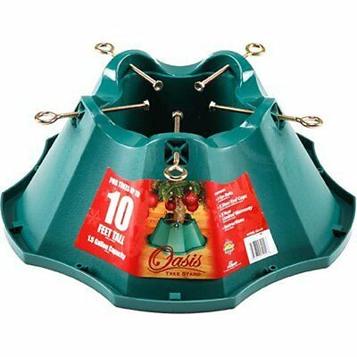 Jack-Post Oasis Christmas Tree Stand, for Trees Up to 10-Feet, 1.5-Gallon W