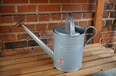 Haws V143T Traditional Peter Rabbit Design Metal Watering Can, 2.3-Gallon/8