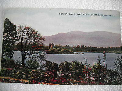 Valentines - Lower Lake and Ross Castle - Killarney - Co Kerry - posted Ireland