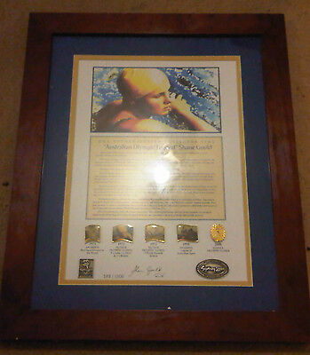 """***sydney 2000 Dna Authenticated Pins """"shane Gould Australian Olympic Legend"""