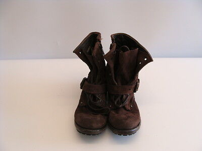 Designer Ash Suede Women's Shoes With Laces And Straps For The Winter, Size 37