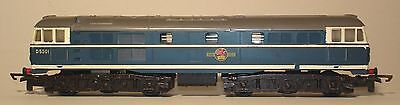 Tri Ang - very rare version of T96 A1A A1A diesel in blue livery  class 31 D5501