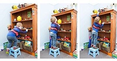 Bula Baby Folding Step Stool For Kids - New Safe Locking System And Non Slip -