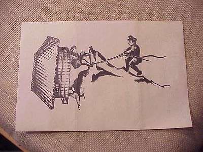 Original Wwii Japanese Dropped Leaflet  #6