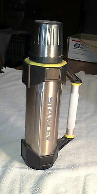 Vintage Stanley Tools Aladdin 1 Quart Thermos Stainless Steel Heavy Duty