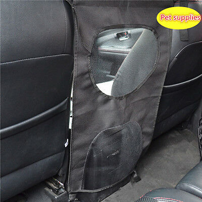 Safety Universal Travel Mesh Car SUV Front Seat Pet Dog Barrier Protector