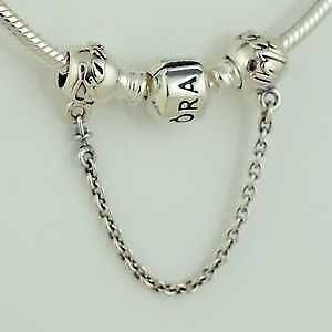 Genuine Pandora sterling silver S925 ALE family ties  safety chain Charm