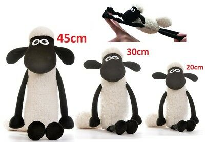 SHAUN THE SHEEP 20cm 30cm 45cm SOFT Toy Plush LICENSED Official Aadrman TV Movie