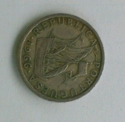 1966 - Portugal 5 Escudos - Relatively RARE & Very Collectable