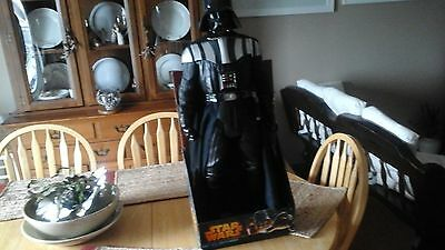 darth vader figure toy NEW 31 inch