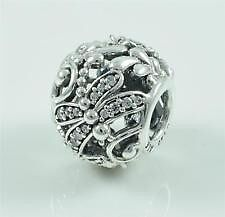 Pandora sterling silver S925 ALE  Dragonfly Meadow Charm