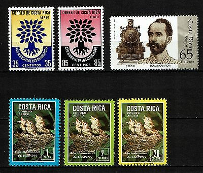 Costa Rica Lot postfrisch