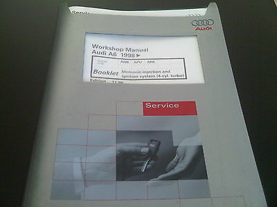 Audi A6 1998 on Factory Workshop Manual motronic injection & ignition system