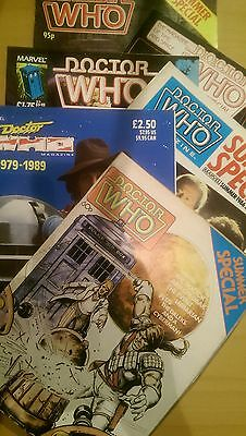 Doctor Who Magazines (Winter/Summer Editions)