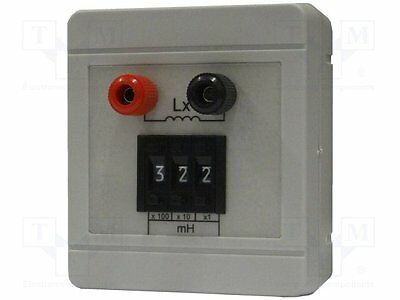 1 pc Decade box: inductance; 1÷999mH; Number of ranges:3; ±5%