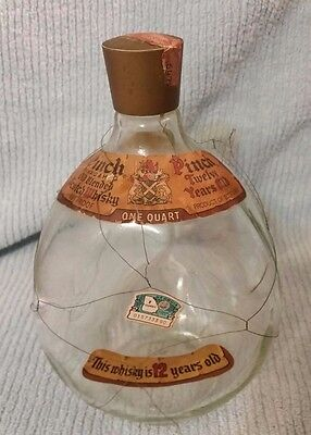 Haig & Haig Pinch Scotch Whisky Bottle made in Scotland