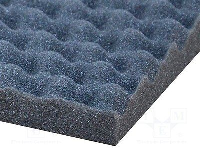 1 pc Sound absorbing sponge; 1000x500x30mm; perforated