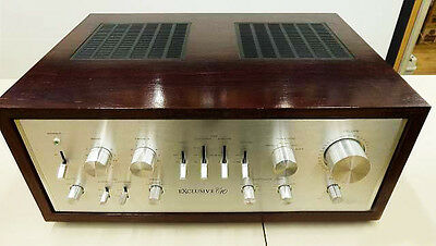 80s PIONEER Exclusive C10 Vintage Stereo Control Amp Pre-amplifier Made in Japan