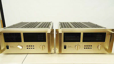 Accuphase M-100 Monophonic Power Amplifier 1 Paar MIJ Vintage amp Made in Japan