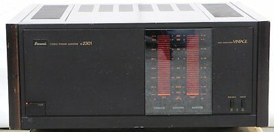 SANSUI B-2301 Vintage Transistor Power Amplifier Perfect Working Made in Japan