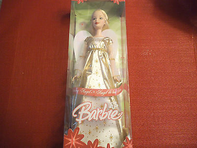 barbie doll 2005 holiday angel in box