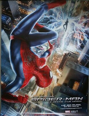 THE AMAZING SPIDER MAN 2 Affiche Cinéma ROULEE / ROLLED Movie Poster 160x120