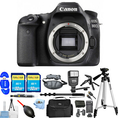 Canon EOS 80D DSLR Camera!! ALL YOU NEED BODY ONLY BUNDLE BRAND NEW!!