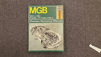 Haynes MGB 1962 - 1980 Roadster & GT Coupe 1798cc