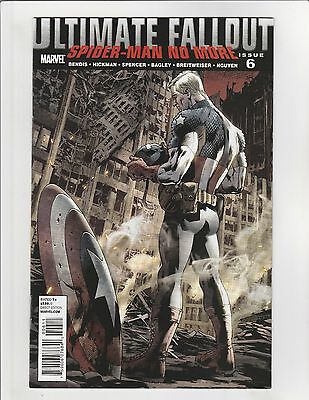 Ultimate Fallout #6 VF/NM 9.0 Marvel Comics Spider-man
